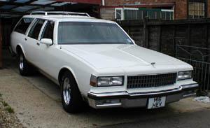 1990 Chevrolet Caprice Wagon.